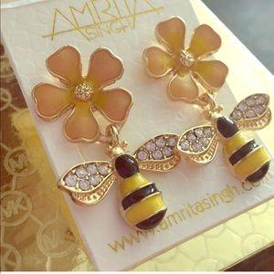 Amrita Singh Bee Earrings